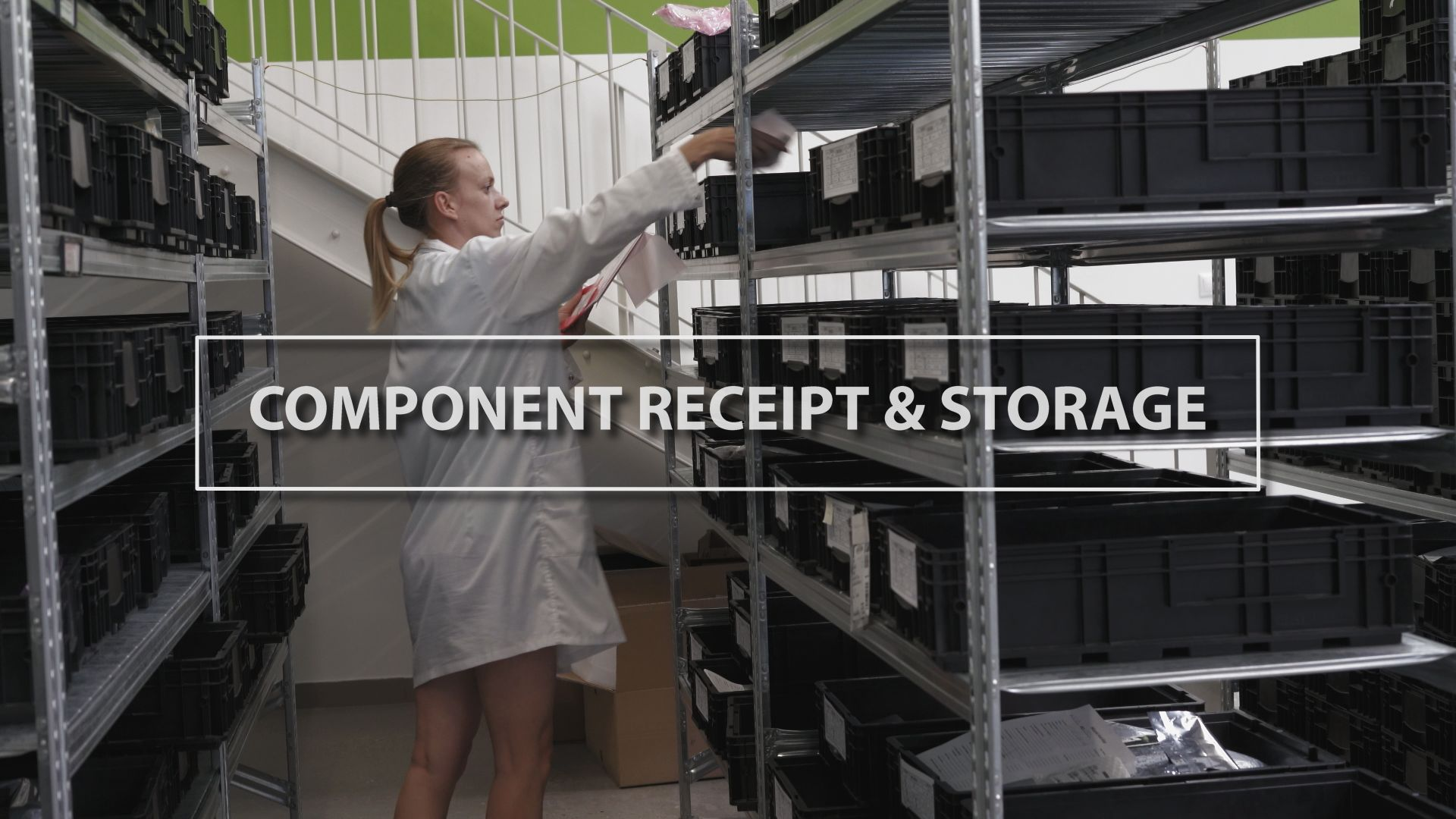 Technology Thursday: Component Receipt & Storage