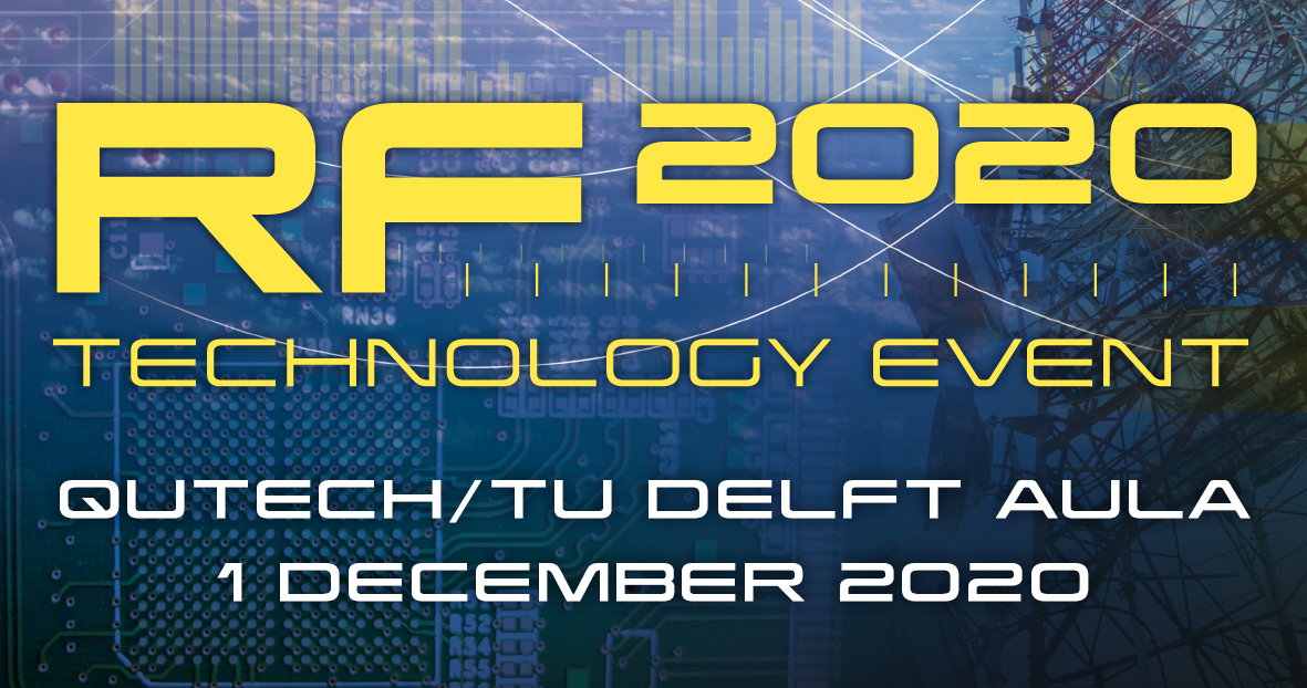 RF Technology event 2020 verplaatst naar 1 december