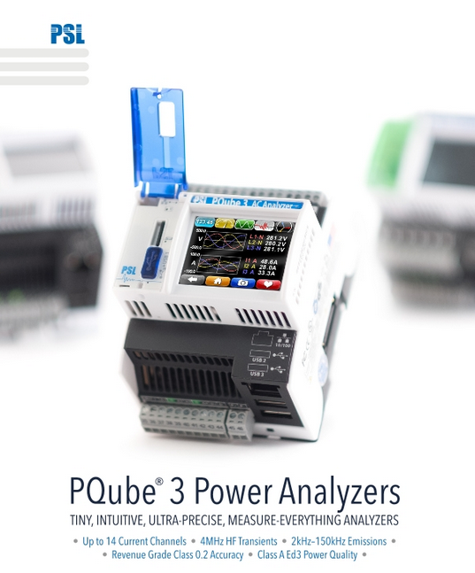 PQube 3 Power Quality Monitors