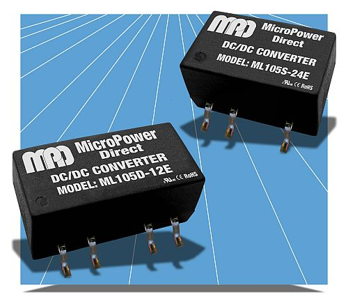Ultra-Miniature, 1W, 1 & 2 Output SMT Converters