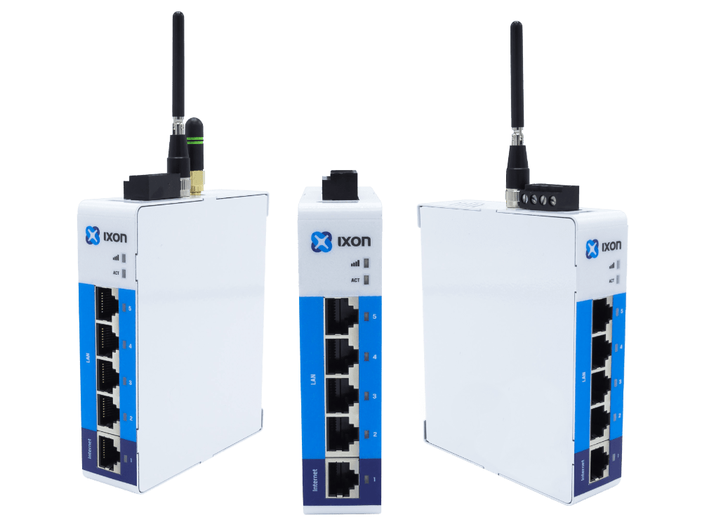 IXrouter: Industrial VPN Router voor PLC Remote Access en Data