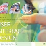 Bekijk de folder van het User Interface Design Seminar