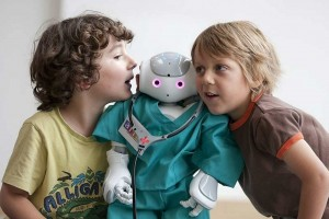*** Local Caption *** ALIZ-E project, Nao, human-robot interaction, Robot