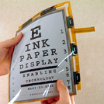 E-paper Display met E-Inkt en Microcapsule technologie
