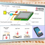 Kyocera introduces new touch feeling technology for real button feeling