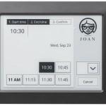Indoor wireless digital sign meeting schedule solution