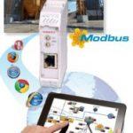Machinebesturing met uw mobile; Web-HMI Server voor Modbus TCP IP systems