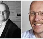 Dagvoorzitters van LabAnalyse: Hans-Gerd Janssen en Theo Noij