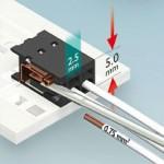 Extreem klein – miniatuurconnectoren met snelaansluiting voor LED van Phoenix Contact
