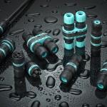 Maak uw buitenverlichting volledig waterproof met de nieuwe xDRY connectorreeks van Techno