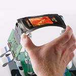 OLED displays (Organic Light Emitting Diode) vaak gebruikt voor kleine beeldschermen
