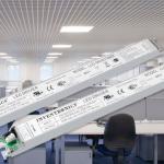 Slanke drivers voor LED panelen