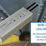 LED DRIVERS WITHOUT ELECTROLYTIC CAPACITORS