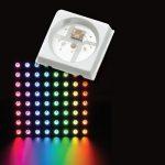 Individueel adresseerbare RGB leds