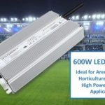 600W high-voltage input, constant voltage LED drivers