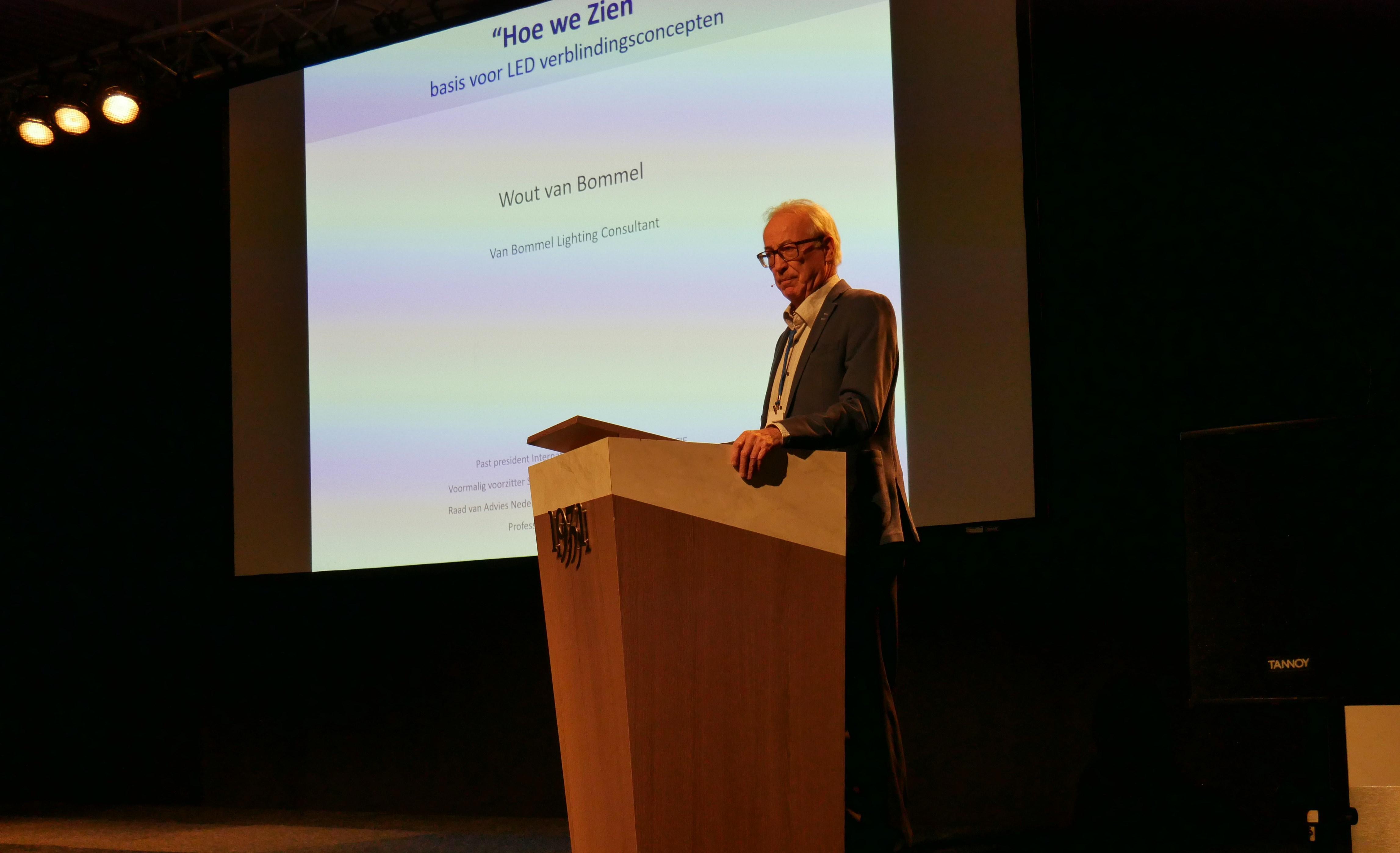 Prof. Ir. Wout van Bommel op LED 2019