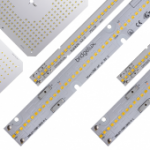 New Linear and Square Modules include up to 200 lumens/watt (lm/W), new 2700K standard CCT options