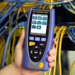 T&M Systems –  NaviTEK II- eerste lijns Handheld tester voor passieve- en aktieve LAN netwerken