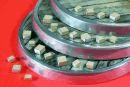 154uF met 7 keramische condensatoren