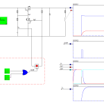 DC Current Switching Simulation