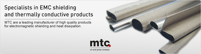 EMC shielding and thermally conductive products
