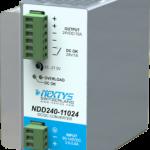 Nextys 110Vdc DC/DC converter 240W voor spoorwegtoepassingen