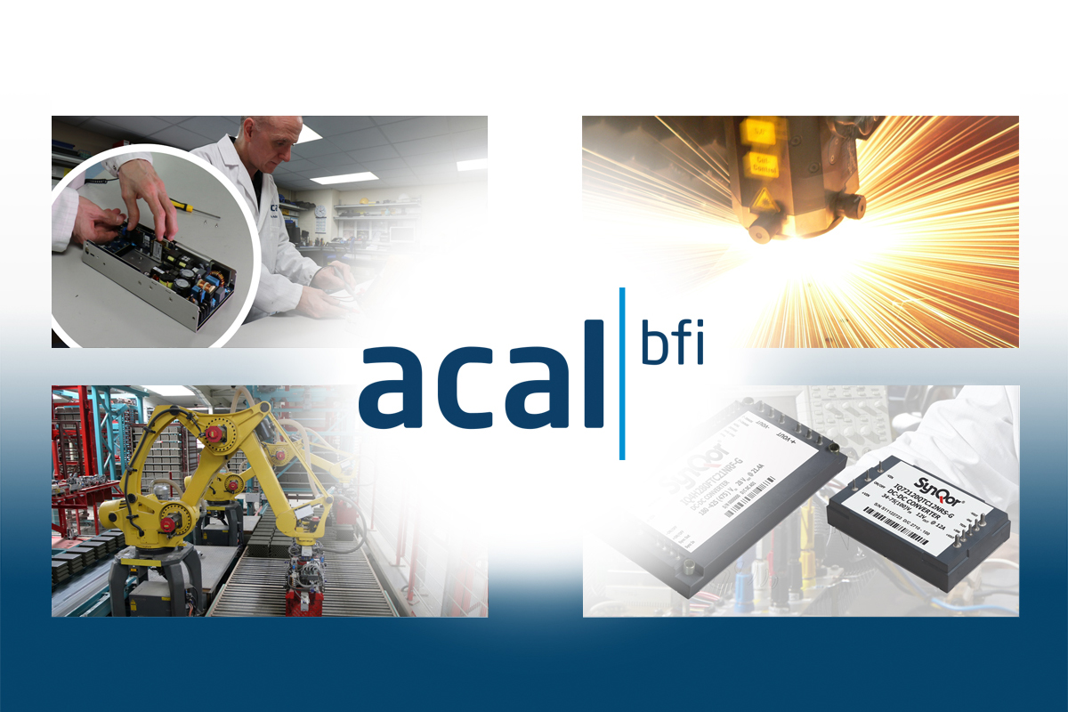 Acal BFi industrial power