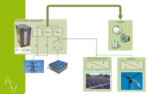 Microgrid manager