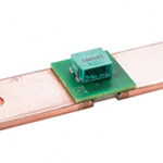 BAC shunt: Mini-circuit board makes it easy to access the measurement signal.
