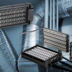 Veilige luchtverwarmers met laag drukverlies