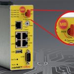 mbNET.rokey VPN router met sleutelschakelaar