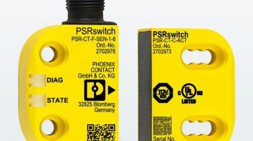 Aanrakingsvrije veiligheidsschakelaar PSRswitch