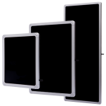 Ultra-low-profile UHF antennes