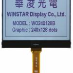 Winstar monochrome COG graphic LCD module