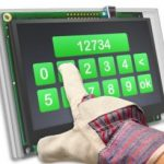 M-PCT Capacitive Touch Smart TFT modules bedienbaar met handschoenen