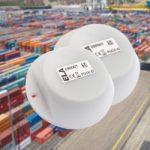 Robuuste, waterdichte actieve RFID tags