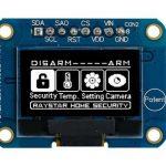De nieuwe 0,96″ COG en PCB OLED WEA012864D-01 versie van Winstar