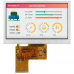 Winstar WF43WSYAEDNN0 a High Brightness 4.3 inch wider view angle IPS TFT LCD module