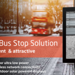 e-Paper based System Solutions for Healthcare & Bus Stop Digital Signage