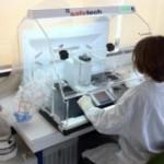 Veilig afwegen op het laboratorium