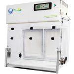 Bcon Instruments met de Mini II MSC safety cabinet & Excel Plus Safechange weighing workstation