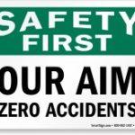 Doelstelling: zero accidents