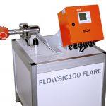 Fakkelgasmeting met Flowsic Flare
