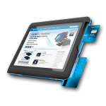 10.1″ SEMI-RUGGED TABLET WITH INTEL ATOM Z3735F