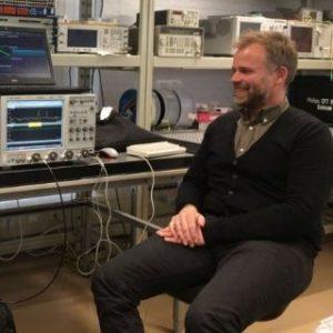 Test en Meet specialist Dirk voor lezing Acal BFi