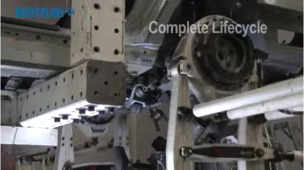 Testen van auto's en treinen
