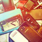 Oude smartphones