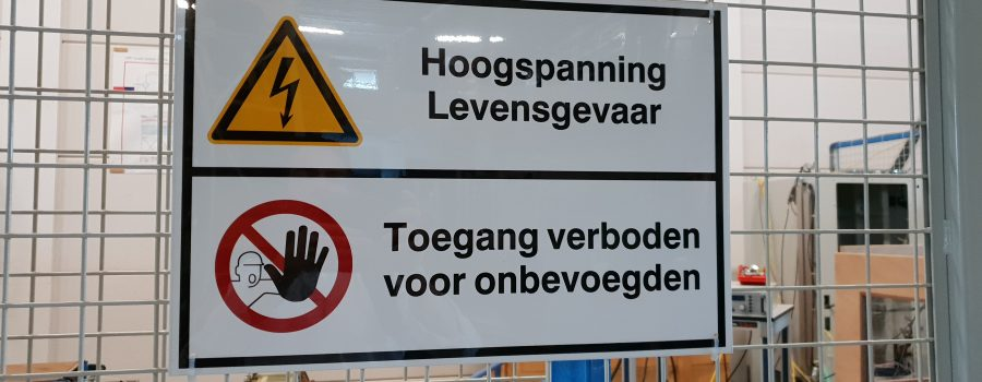waarschuwingsbordjes