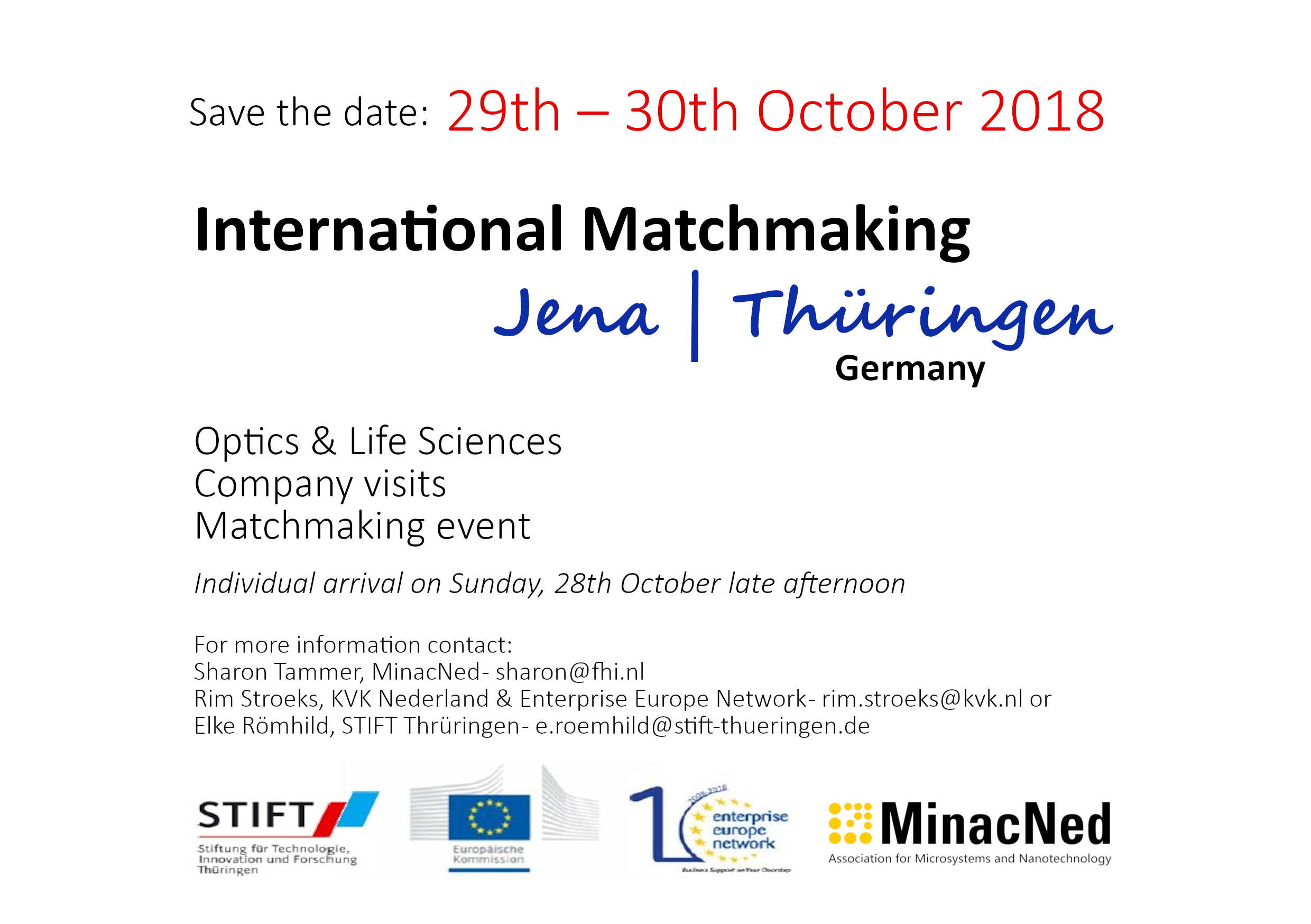 International matchmaking event