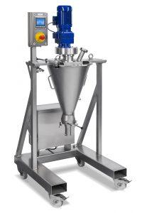 Low intensity batch mixer